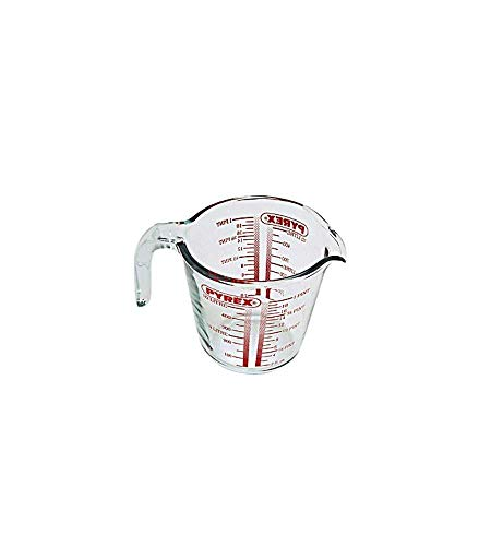 Pyrex Glass Measuring Jug, 0.5L