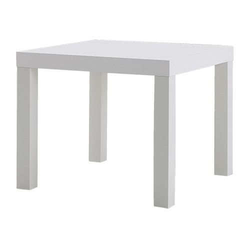 IKEA LACK Coffee Table/Side Table black, white, 55x45x55