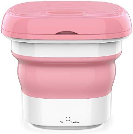 Portable Washing Machine Ultrasonic Ozone sterilization mini washing machine Folding Washing product image