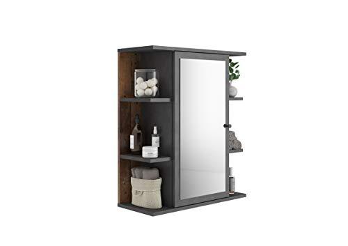FMD furniture Spiegelschrank, Spanplatte, ca. 60 x 71,5 x 25 cm
