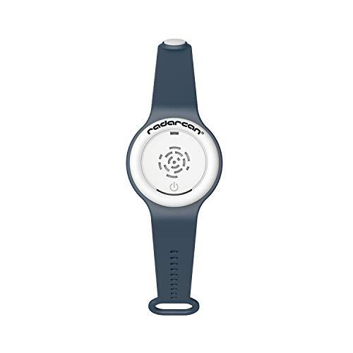 radarcan® R-100 AntiMosquitos Personal Plus Premium. Pila 1 x CR2032 incluida. (Azul Marino)