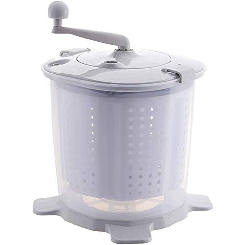 Mini Lavadora Portátil No Eléctrica Spin Manual Secadora Lavadora De Ropa Con...