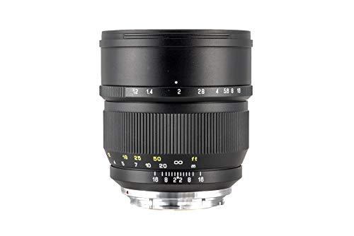 Zhongyi Mitakon Speedmaster 85 mm f/1.2 Objetivo para cámaras Digitales Canon RF, 1 m Distancia de Enfoque, Enfoque Manual