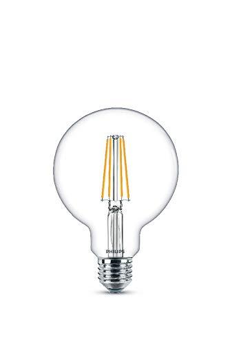 Philips LEDclassic E27 Lampe, 806 Lumen entsprechen 60W, warmweiß (2.700 Kelvin), klar