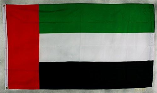 Buddel-Bini Flagge Fahne ca. 90x150 cm : Vereinigte Arabische Emirate VAE UAE