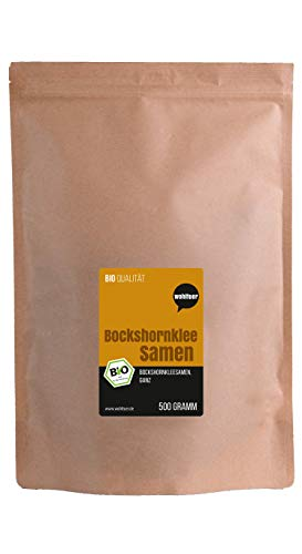 Wohltuer Bio Bockshornkleesamen | Bio Bockshornklee Samen aus Bayern 500g