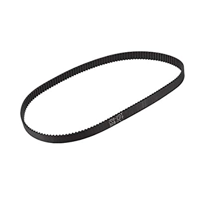 sourcing map GT2 Timing Belt 308mm Circumference 6mm Width Closed Fit Synchronous Pulley Wheel for 3D Printer