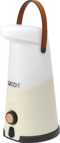 UCO Sitka 500 Lumen Camping Lantern with Extendable Arm, Battery Powered, Beige, One Size (ML-SITKA)