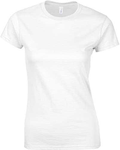 Junior girls softstyle t shirt White Small product image
