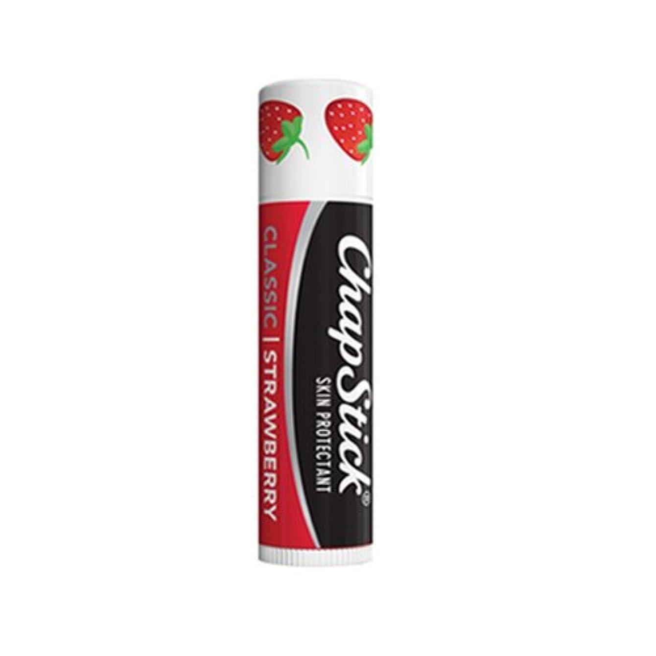 間違いなくパッド予言する(3 Pack) Chapstick Classic - Strawberry (並行輸入品)