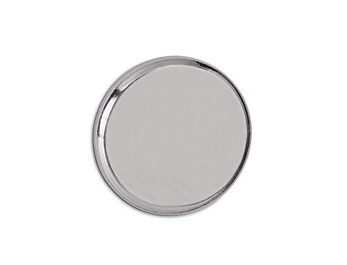 MAUL 6170596Magnete Al Neodimio della Forza magnetica, diametro: 25mm, Nickel