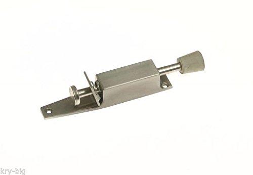 Deurvergrendeling, deurstopper, vloer, Amig, deurhouder, vloerdeurstopper, 180 mm, zilver