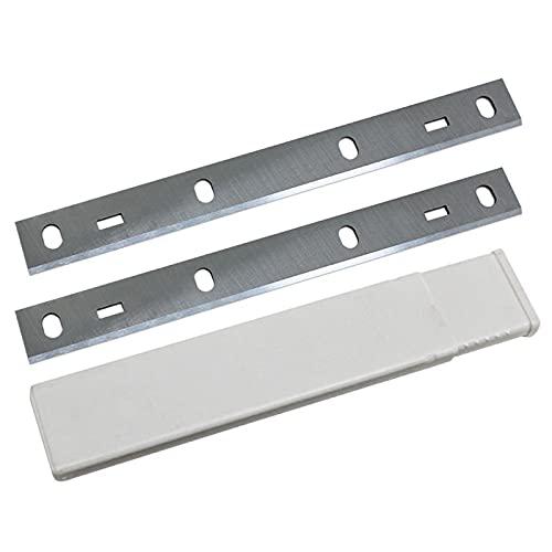 Wnuanjun 2 stücke 210x22x1.8mm HSS-Hobel-Klinge für W-O-O-D-S-T-A-R-R-R-PT85, für K-I-T-Y PT8500 210mm 8 Zoll Hobelmesser