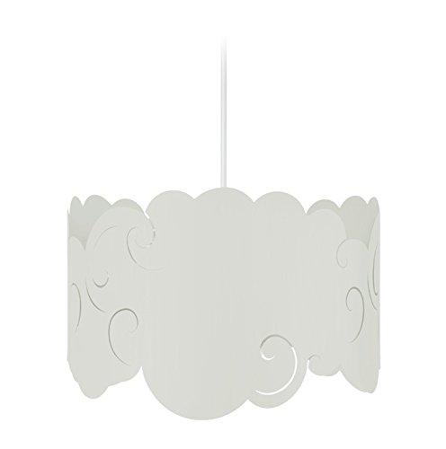Tosel 17339 Suspension 1 Lumière, Acier, E27, 40 W, Vert, 30 x 90 cm