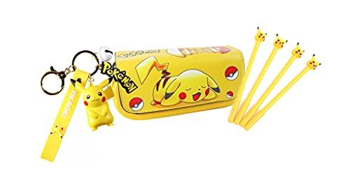 Générique Trousse Pikachu, Porte Clés, Crayon | Cadeau Enfant,Cadeau Pokemon, Pokemon, Pikachu | Trousse Enfant, Porte Clef, Stylo Pokemon