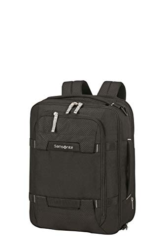 Samsonite Sonora - 15.6 Inch Expandable 3-Way Shoulder Bag, 43 cm, 28/32.5 Litre, Black
