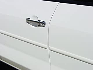TRUE LINE Automotive White Door Edge L Shape Molding Kit With 3M Tape (24 Foot)