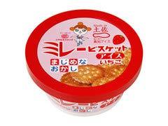 高知アイス ミレービスケットアイスいちご 16個×6セット アイスミルク 【 計 96個 】