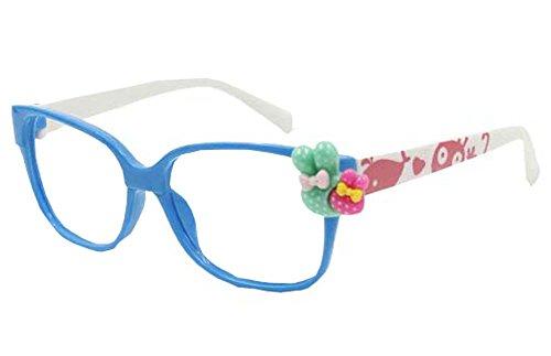 Kids Party Kunststoff Lustige Brillengestelle-Blau und Weiß