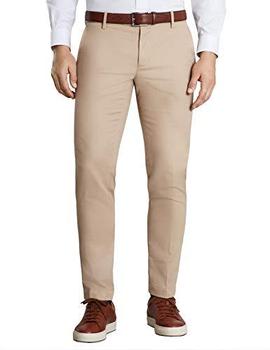 BROOKS BROTHERS Chino Supima Pieceddyed Soho Fit Pantalones, Beige (Light Beige 275), 52 (Talla del Fabricante: 40 34) para Hombre