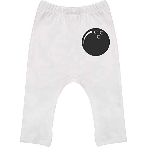 Azeeda 6-12 Monate 'Bowlingkugel' Baby Leggings / Hosen / Jogger (BE00032758)