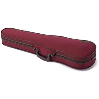 東洋楽器 バイオリンケース ULシェルR レッド 4/4サイズ