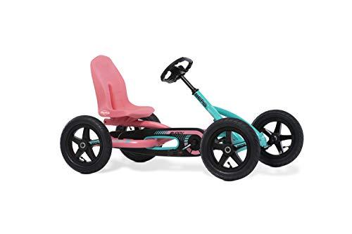 BERG Gokart Buddy Lua | Kinderfahrzeug, Tretauto mit Optimale Sicherheid, Luftreifen und Freilauf, Kinderspielzeug geeignet für Kinder im Alter von 3-8 Jahren