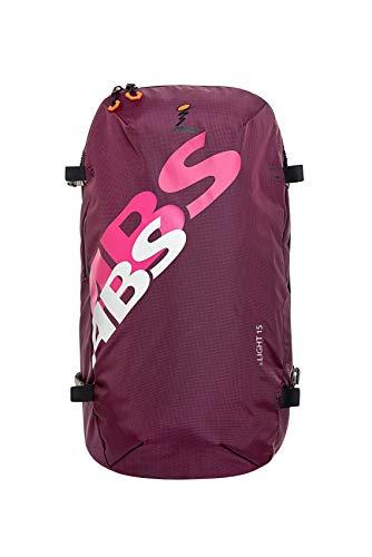 ABS Unisex– Erwachsene Lawinenrucksack Zip-On 15, Packsack für P.RIDE Compact und S.LIGHT Base Unit, 15L Volumen, Fach für Sicherheitsausrüstung, Ski-und Snowboardhalterung, Helmnetz, Canadian Violet