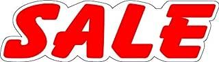 Ez-line Vinyl Number Slogans for Car Lots 2 Dozen Large Windshield Decal Stickers Dealership Numbers (Sale)