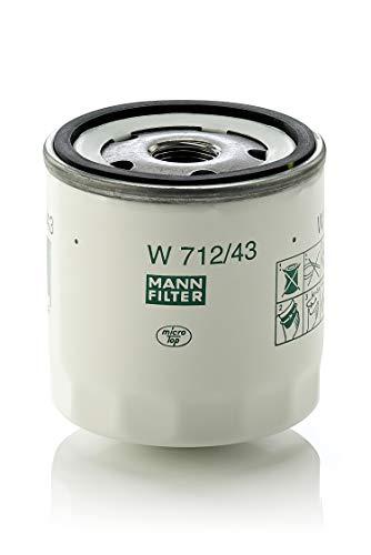 Original MANN-FILTER W 712/43 - Schmierölwechselfilter - für PKW