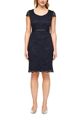 s.Oliver BLACK LABEL Damen 155.10.004.20.200.2036865 Kleid für besondere Anlässe, Dark Navy, 44