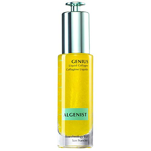 Algenist GENIUS Liquid Collagen - Vegan, Plant-Based Collagen Dropper with Vitamin E & Omega 3, 6 & 9 - Active Anti-Aging Formula - Non-Comedogenic & Hypoallergenic Skincare (30ml / 1oz)