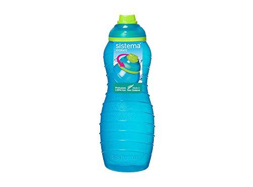 Sistema Davina BPA Free Water Bottle, Assorted Colours, 700 ml
