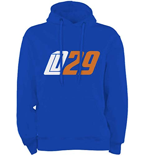 Scallywag® Eishockey Hoodie Leon Draisaitl Oilersnation I Größen S - XXL I A BRAYCE® Collaboration (Kapuzenpullover aus der Offiziellen LD29 Kolllektion) (XXL)