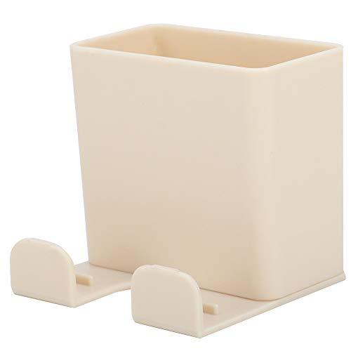 Soporte de mando a distancia de tamaño compacto para dormitorio sin agujeros para el salón para guardar el mando a distancia de la televisión, caja de almacenamiento