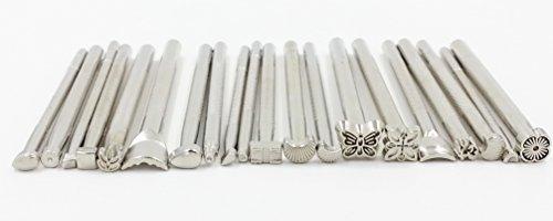 [Rit'z Hobby-Artikel] Gravierwerkzeug zwanzig 1609 Einführungsset [Originalverpackung Rit'z] für Leder Kunsthandwerk (a. Stamped 20 Stück eingestellt)