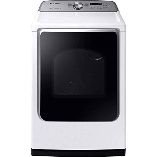 Samsung DVE54R7200W 7.4 Cu.Ft. White Electric Dryer