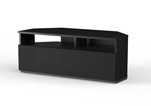 Mueble TV para Esquina. Ref. TRD-100 NN (100 cms de Ancho). Negro.