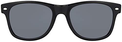 MOKIES Unisex Sonnenbrillen - UV400 Filterkategorie 3 CE Kennzeichnung - Polycarbonat - mit Federscharnier - 101 Grau