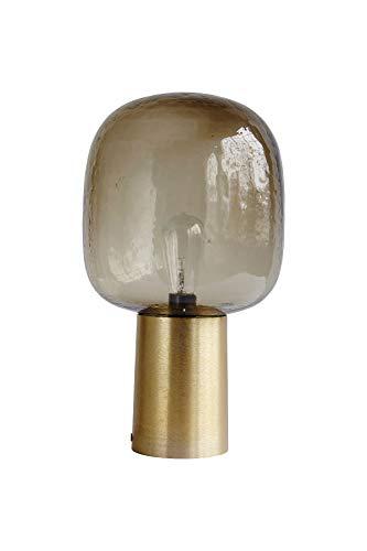 Houes Doctor - Tischleuchte - Tischlampe - Note - Glas - Messing Ø 28 cm Höhe 52 cm E27 max. 25 Watt