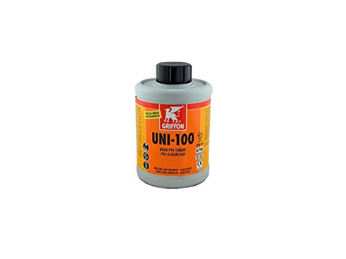 PVC GRIFFON UNI-100 PVC Kleber 250 ml mit Bürste, Profi-Qualität