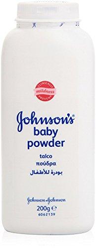 JOHNSON'S Baby Talcum Poeder, 100 g, 12 stuks 6 stuks. 200 g