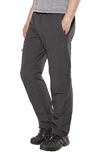 High Colorado Chur 3 Pantalon de randonnée Convertible Fermeture éclair Homme, Anthracite Modèle 54 2020