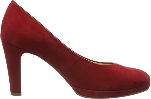 Gabor Shoes Damen Fashion Pumps, Rot (Cherry 55), 35 EU