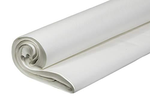 Papel para embalar PE duradero blanco medio pergamino rollo de 5kg WLD-PACK