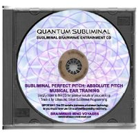 BMV Quantum Subliminal CD Perfect Pitch  Absolute Pitch Musical Ear Training  Ultrasonic Subliminal Series