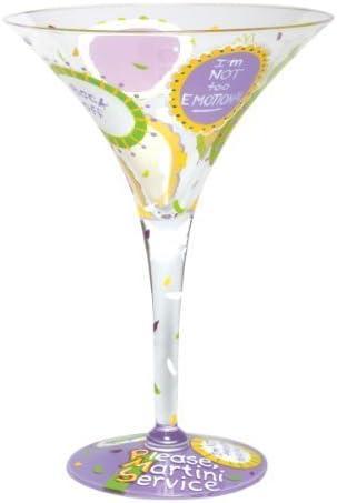 Bombing free shipping Denver Mall Lolita Love My Martini Glass PMS by Design Santa Studio Barbara