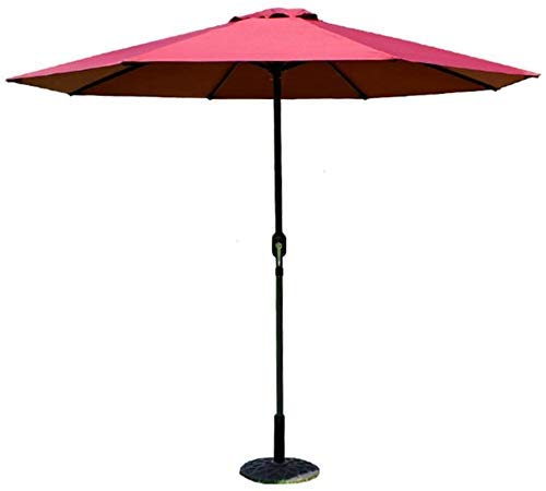 Sombrillas Paraguas al Aire Libre Patio Jardín al Aire Libre Mesa de césped Toldo para el Sol Protección UV 270cm * 250cm (Color: Color café) Toldos (Color: Beige)