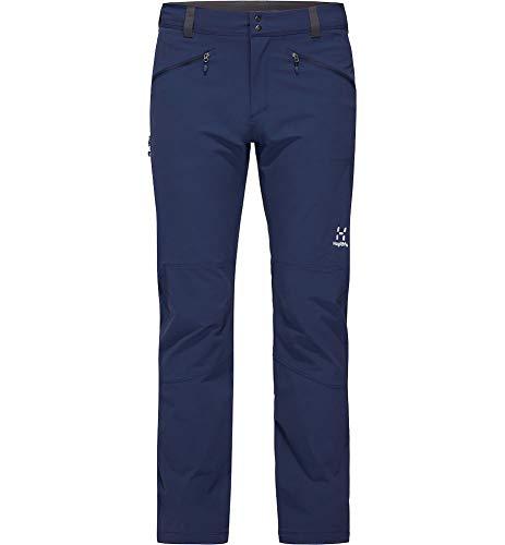 Haglöfs Morän - Pantaloni da Uomo, Uomo, Pantaloni, 603939, Blu (Tarn Blue), S