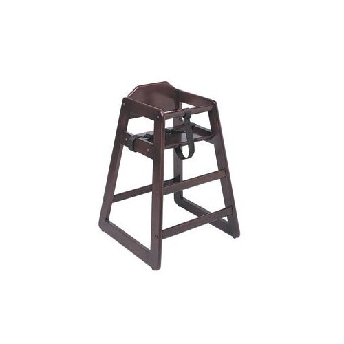 Update International WD-HCM19 Wood Baby High Chair Mahogany
